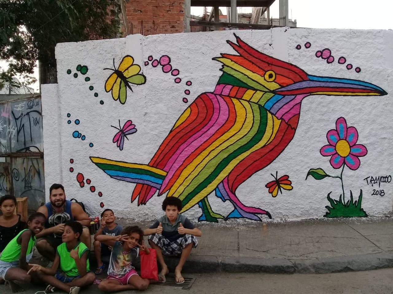 Wagner Trancoso: o grafiteiro do BRT