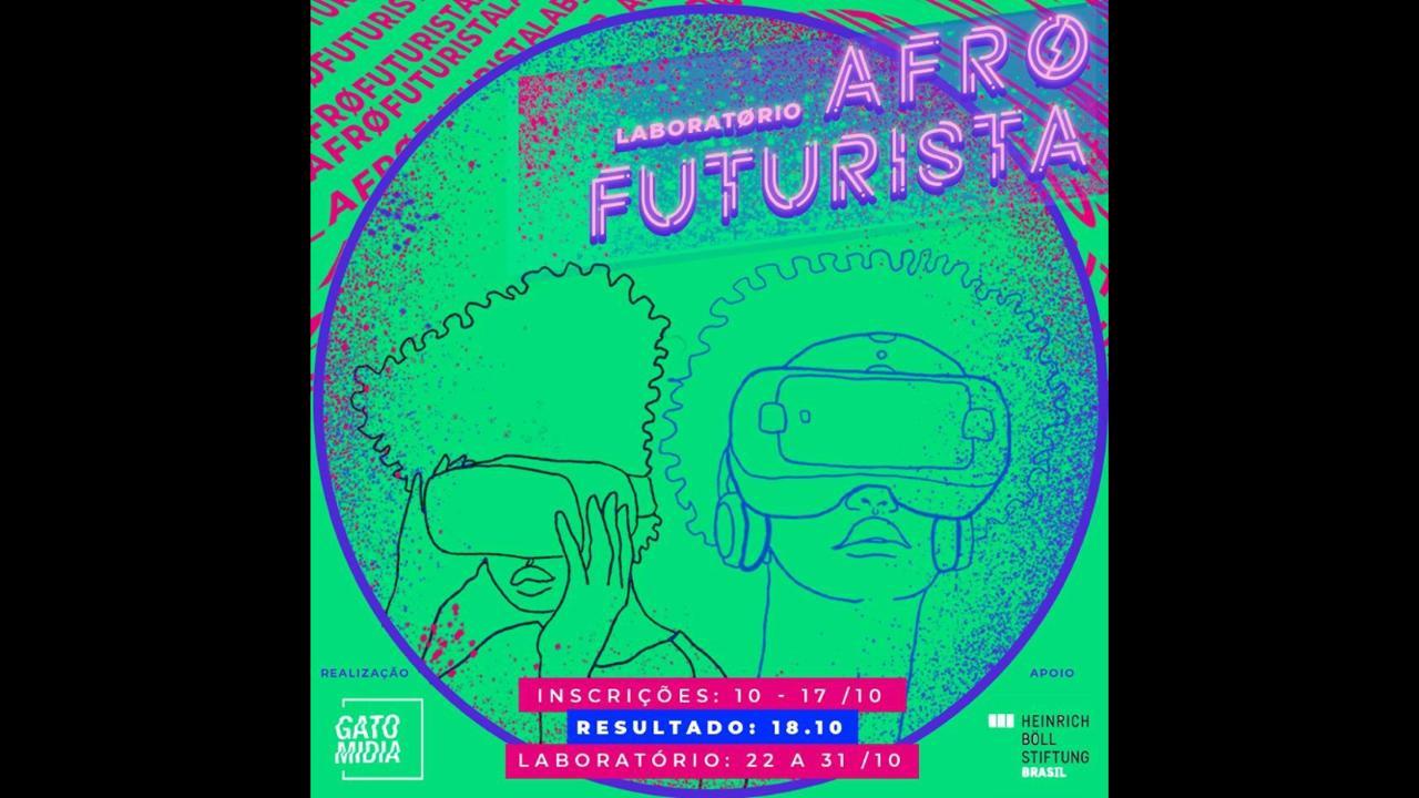 GatoMÍDIA abre inscrições para o Laboratório Afrofuturista