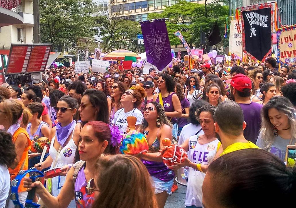 #VozDasMulheres | Primavera Púrpura: não aceitaremos nenhum direito a menos!