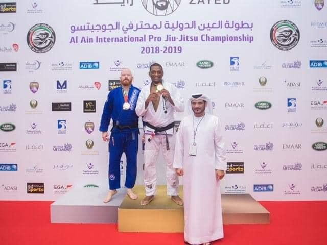 Cria da Cidade de Deus conquista ouro em campeonato internacional de Jiu-jitsu