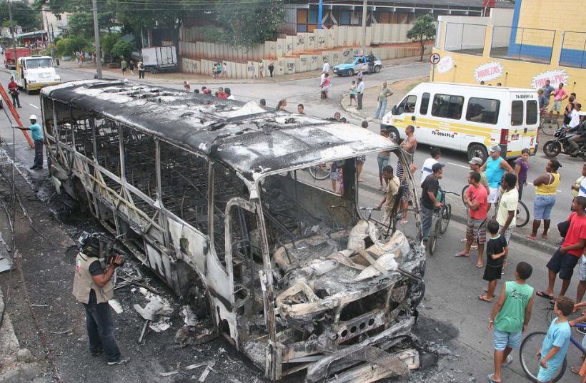 A ocupação teve seu início após uma onda de ataques à ônibus que tomou conta da cidade. Foto: Reprodução