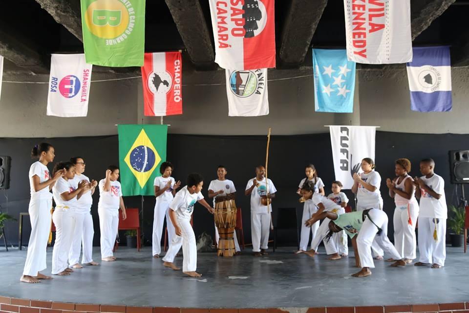 Projeto da CUFA terá aulas gratuitas de capoeira, teatro e zumba