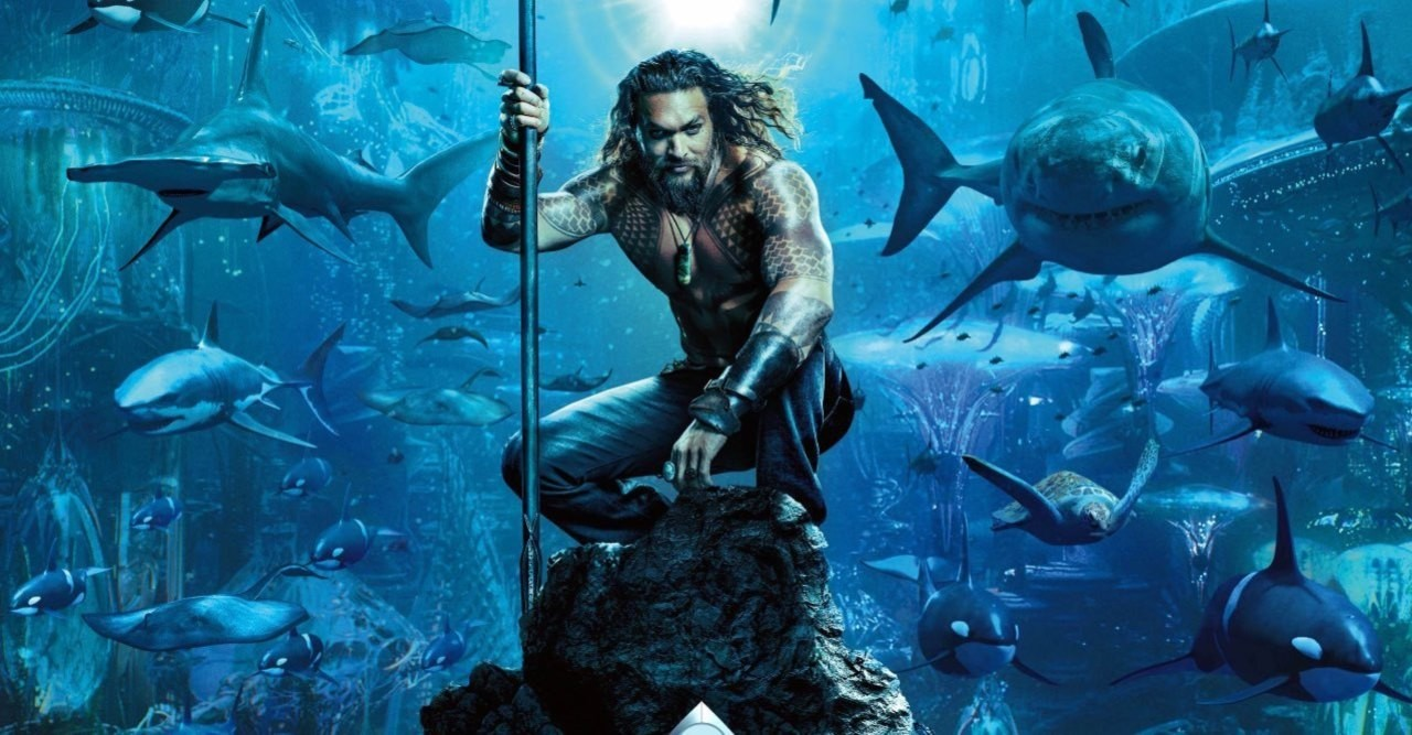Filme 'Aquaman' estreia no cinema do Complexo do Alemão nesta quinta-feira (13)