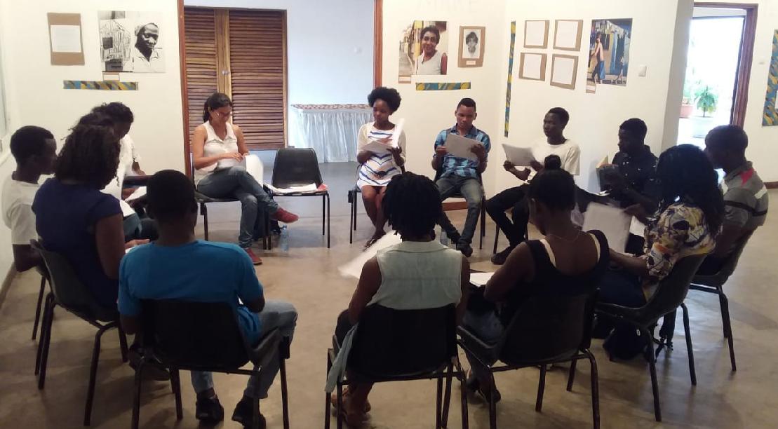 Roda de leitura chegou em Angola e Moçambique