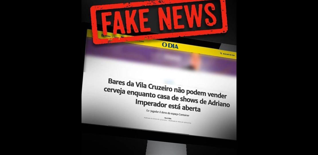 FAKE NEWS  Espaço Konteiner na Vila Cruzeiro NÃO É de Adriano ... 1bdd292173481