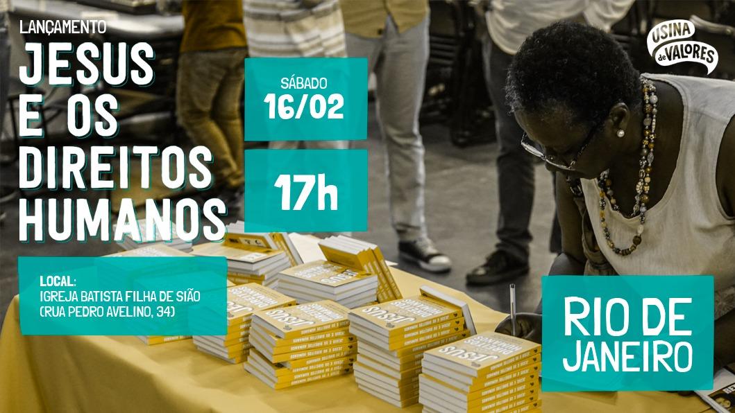 """Livro """"Jesus e os Direitos Humanos"""" será lançado com distribuição gratuita no Morro do Adeus"""