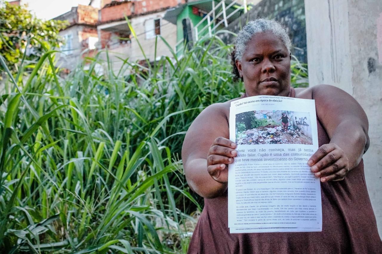 Moradora relembra promessas não cumpridas na comunidade do Capão