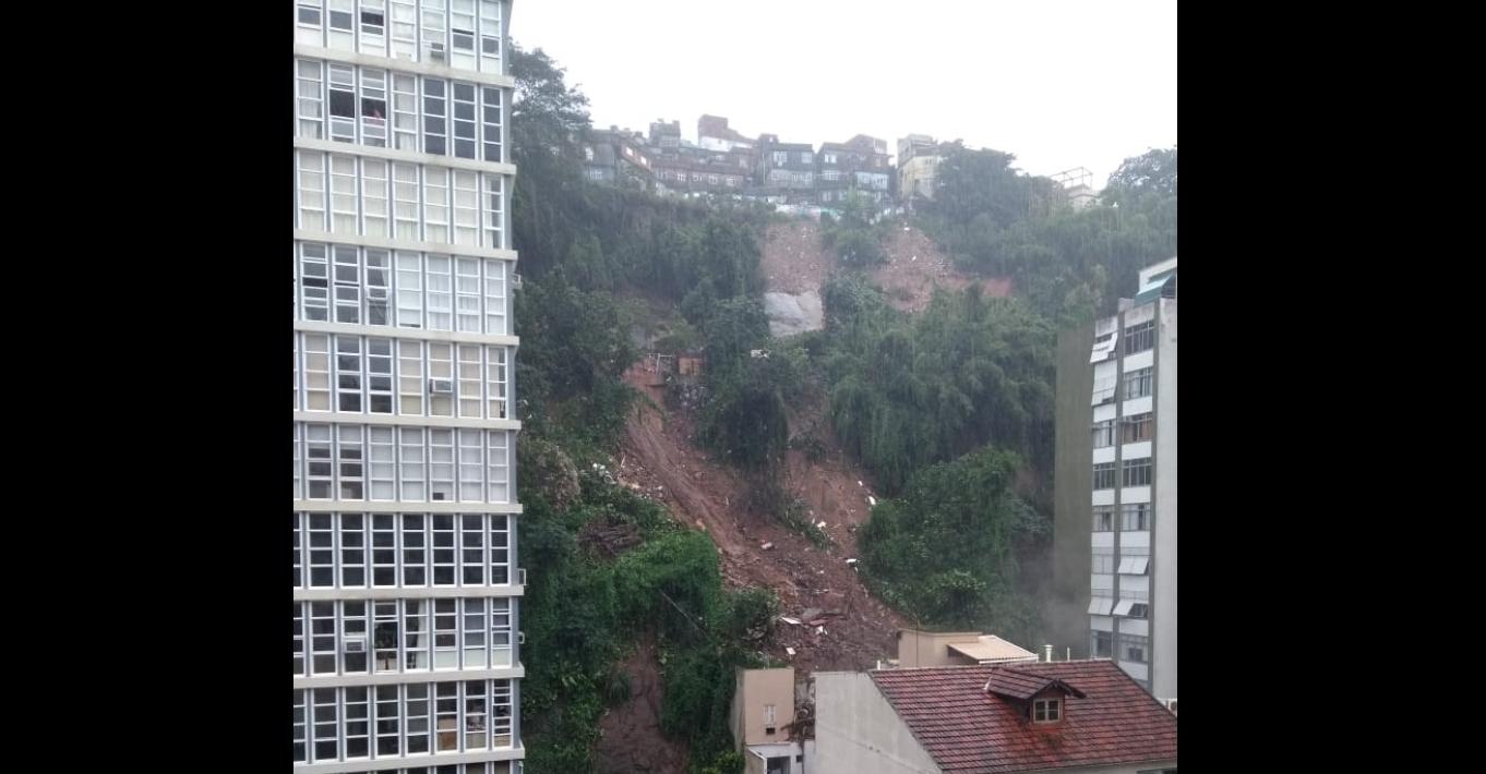 Deslizamentos no Pavão Pavãozinho e Cantagalo levam desespero aos moradores