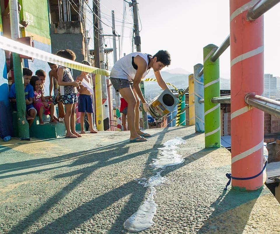Projeto Impacto das Cores inaugura sede no Morro da Providência