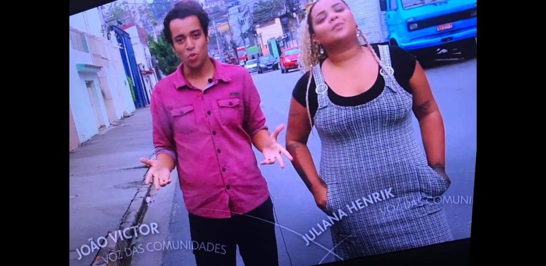 "Integrantes do Voz das Comunidades participam da série ""A Roda"""