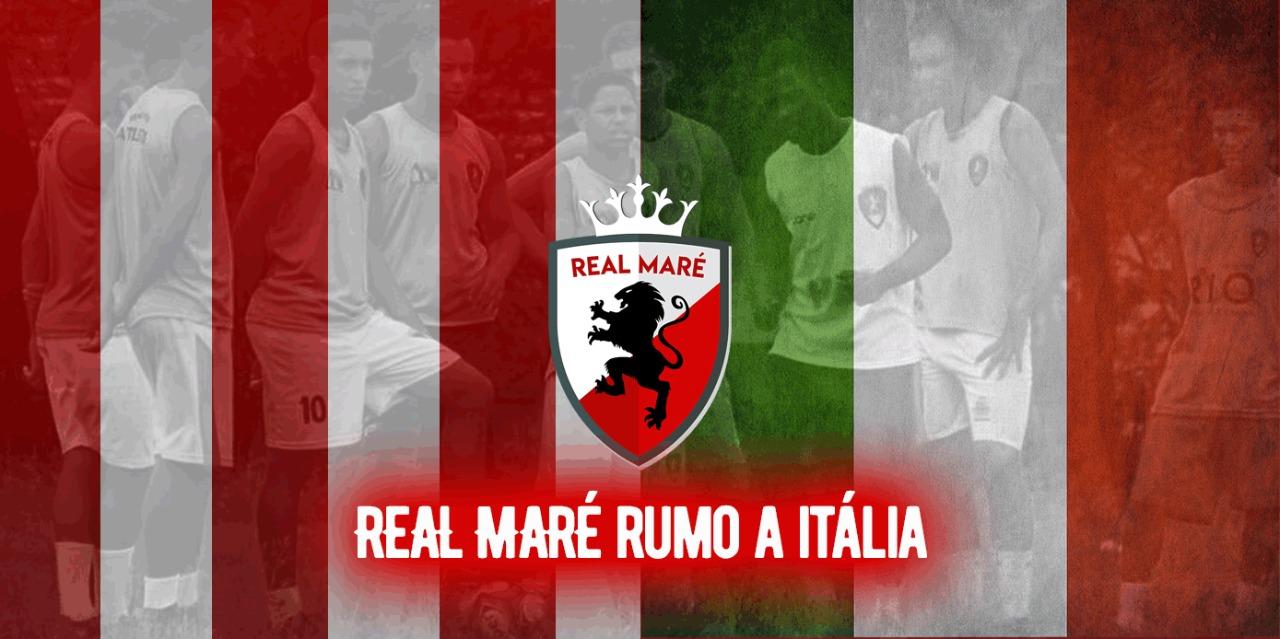 São os meninos da Maré rumo à Itália!