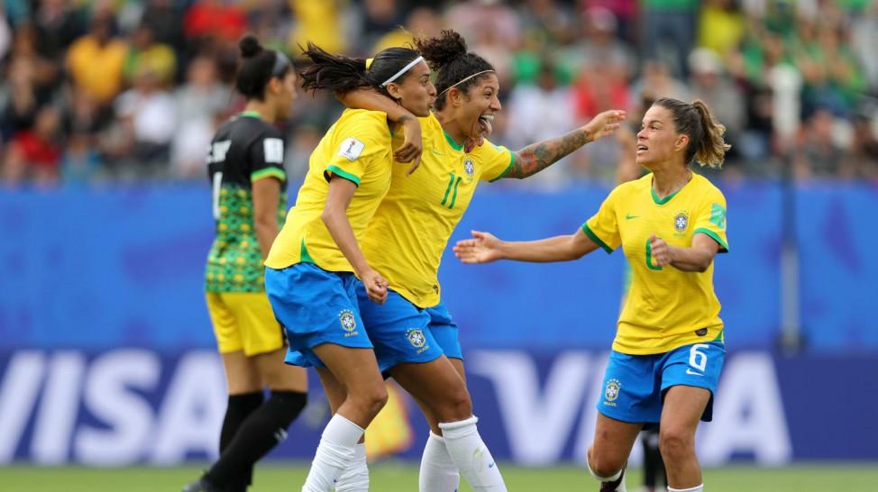 Seleção feminina empolga na estreia da Copa do Mundo 2019