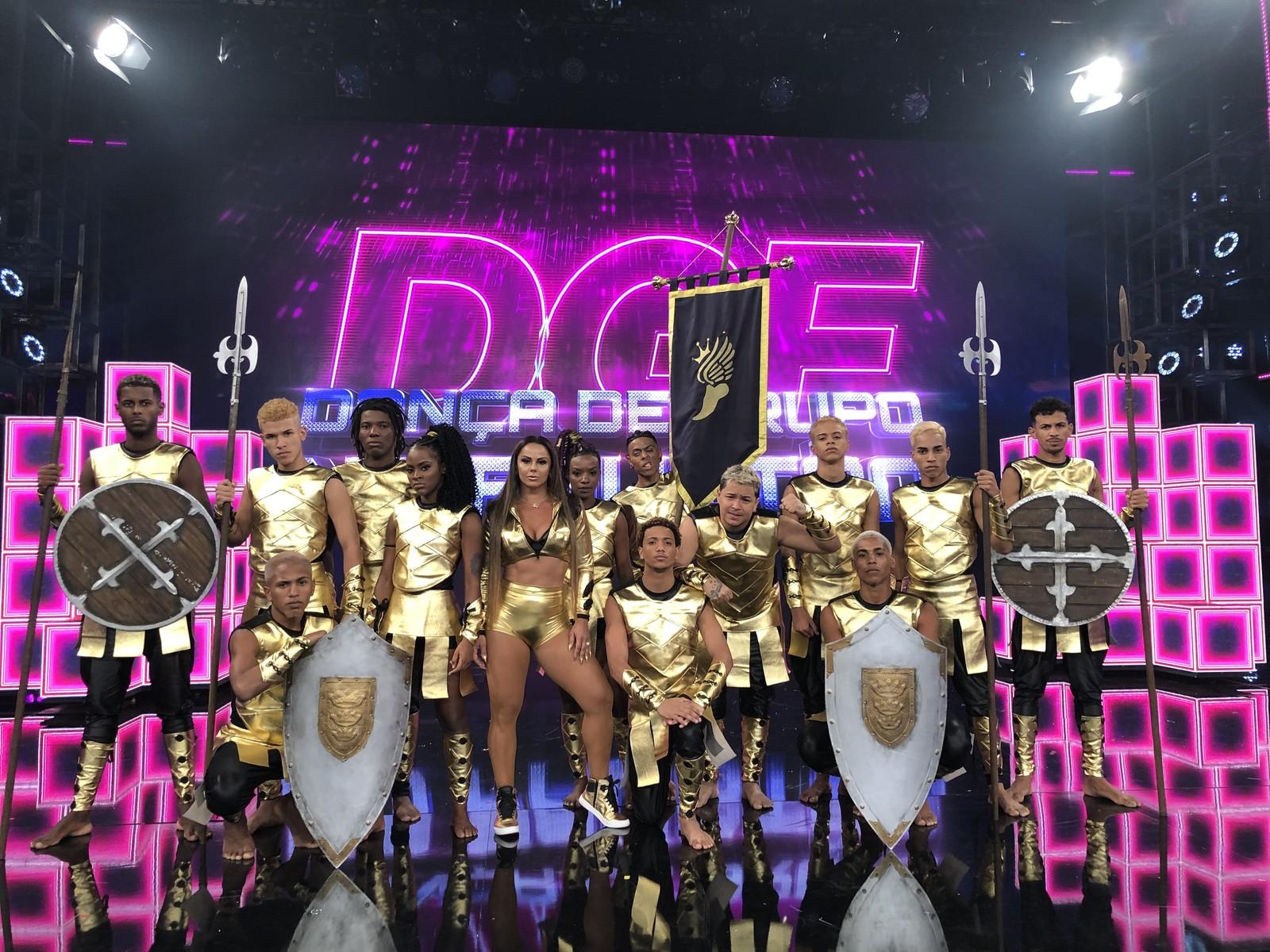Imperadores da Dança são os vencedores do 'Dança de Grupo no Faustão'