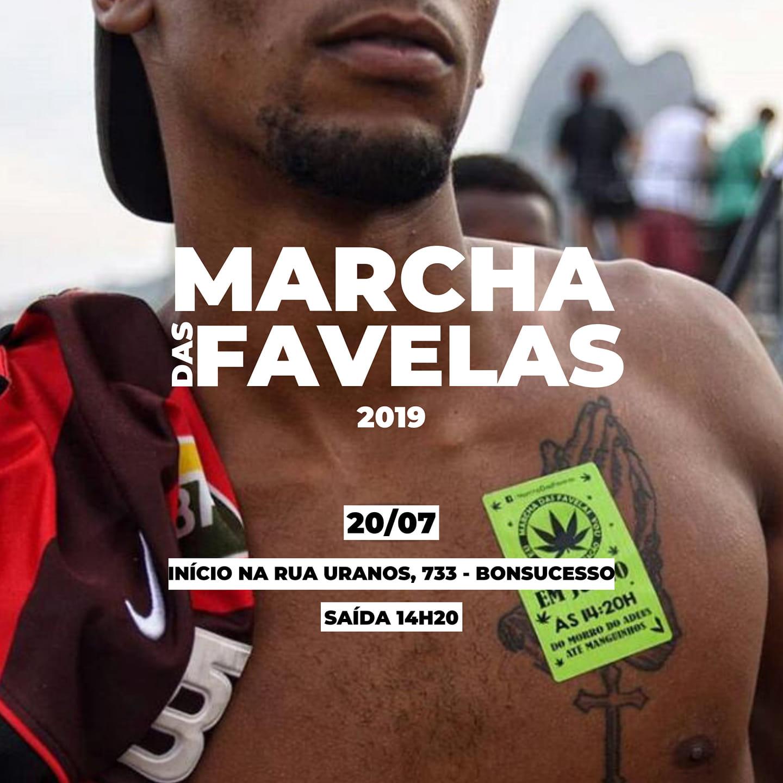 Marcha das Favelas 2019 acontece em Bonsucesso no próximo sábado (20)