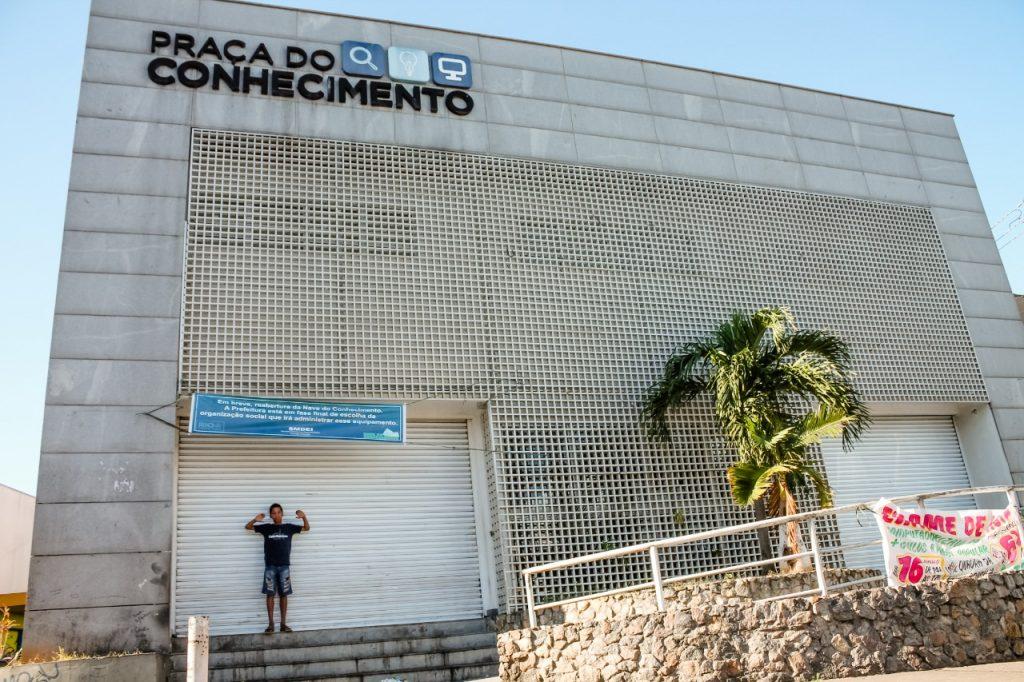 Nave do Conhecimento. Foto: Vilma Ribeiro / Voz das Comunidades