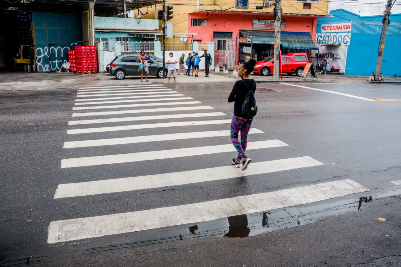 Estrada do Itararé ganha radar de velocidade e pintura das faixas de pedestres