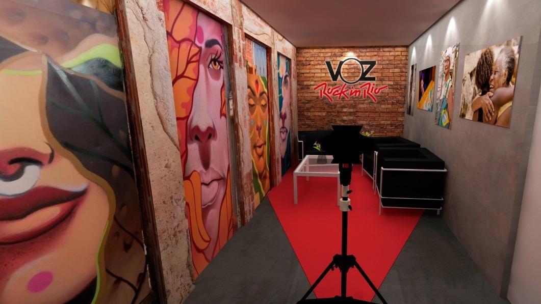 Com estúdio próprio, Voz das Comunidades inicia amanhã a cobertura do Rock In Rio