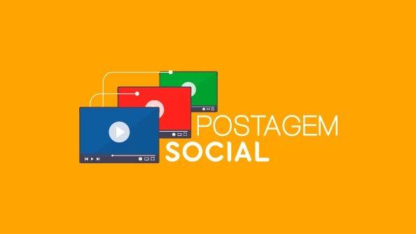 """Plataforma """"Postagem Social"""" repica publicações de cunho social"""