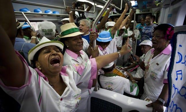 Trem do Samba é cancelado em 2019 por falta de apoio