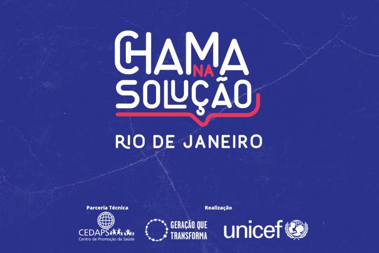 Estão abertas as inscrições para o Chama na Solução no Rio