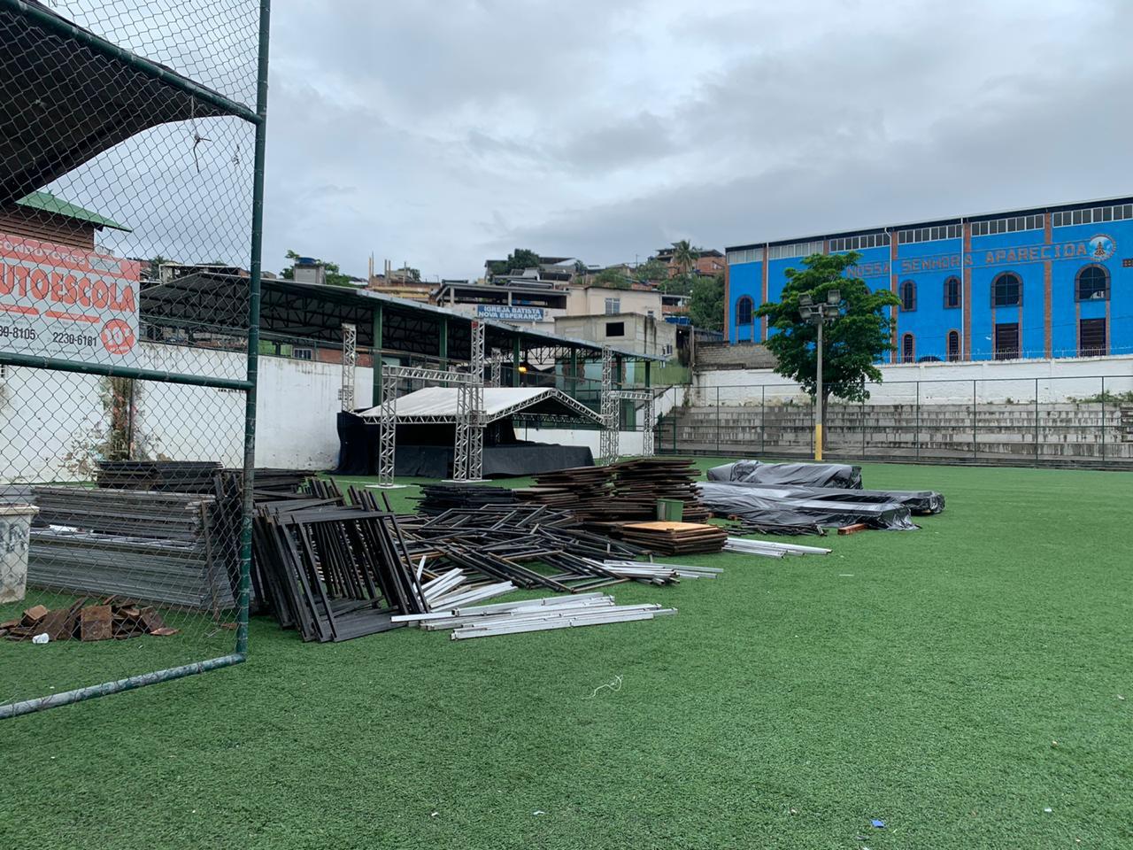 Evento beneficente é cancelado após operação militar na Vila Cruzeiro