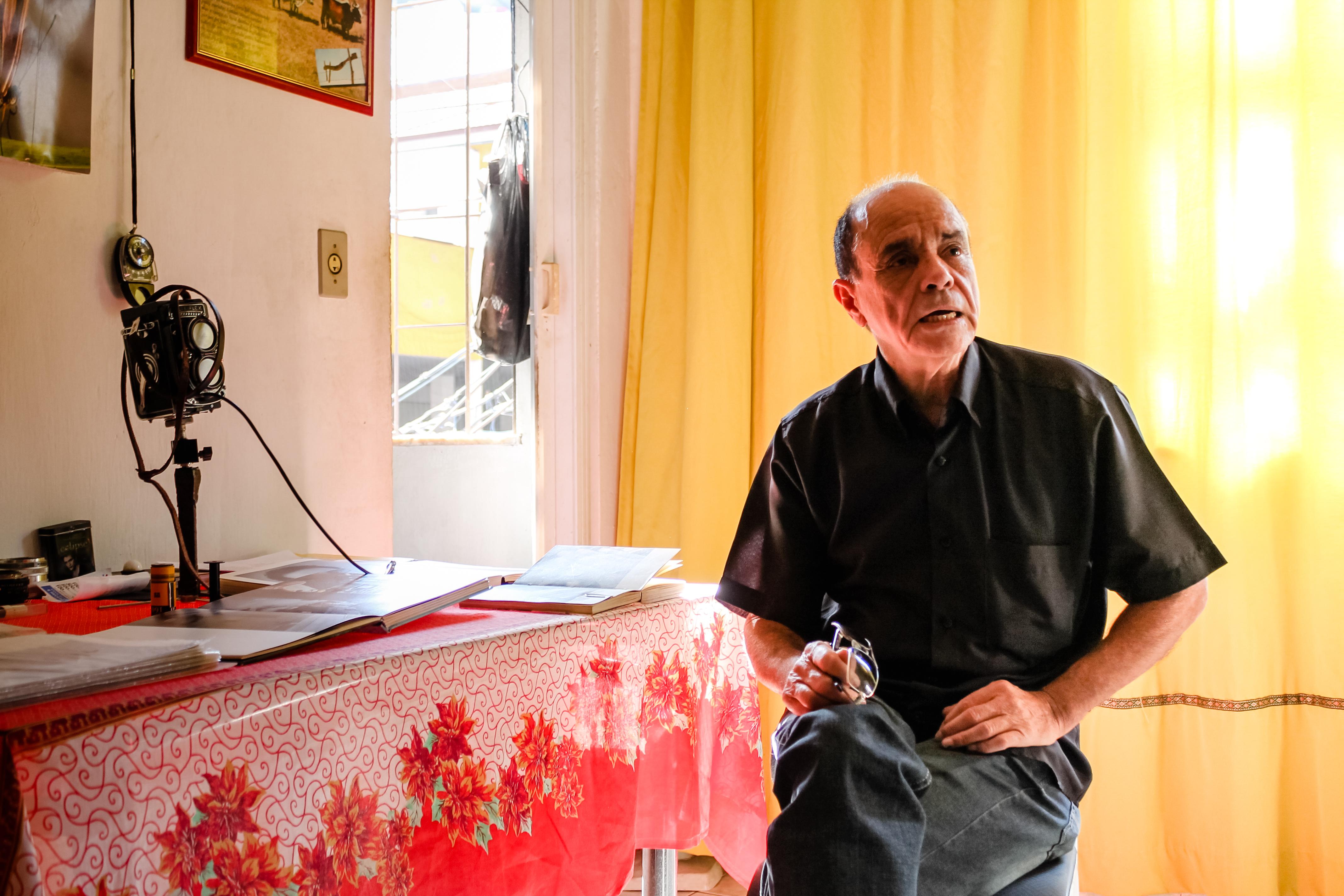 Rodrigues Moura: O pioneiro das fotos no Alemão