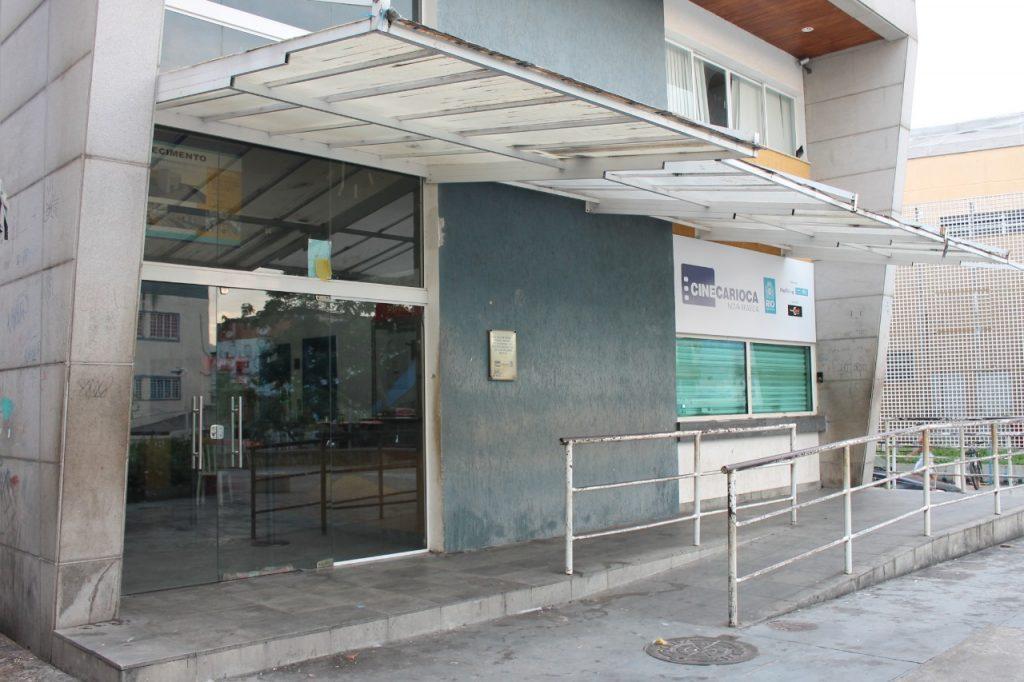 Cine carioca Nova Brasília fechado janeiro 2020. Foto: Vilma Ribeiro/Voz das Comunidades