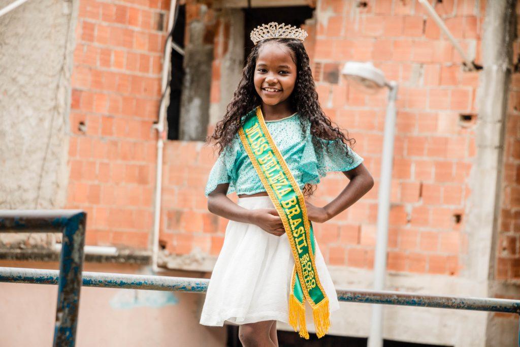 Anne Bellize Miss 2020. Foto: Renato Moura /  Voz das Comunidades