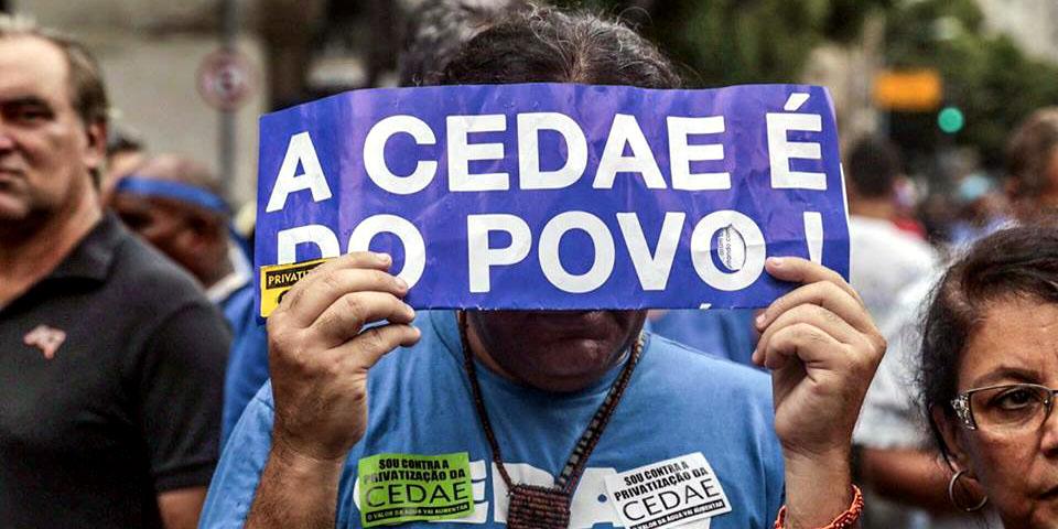 Associação de Moradores convida para ato contra privatização da CEDAE