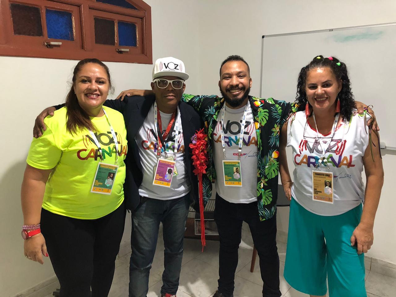 Começa hoje a cobertura de Carnaval do Voz das Comunidades