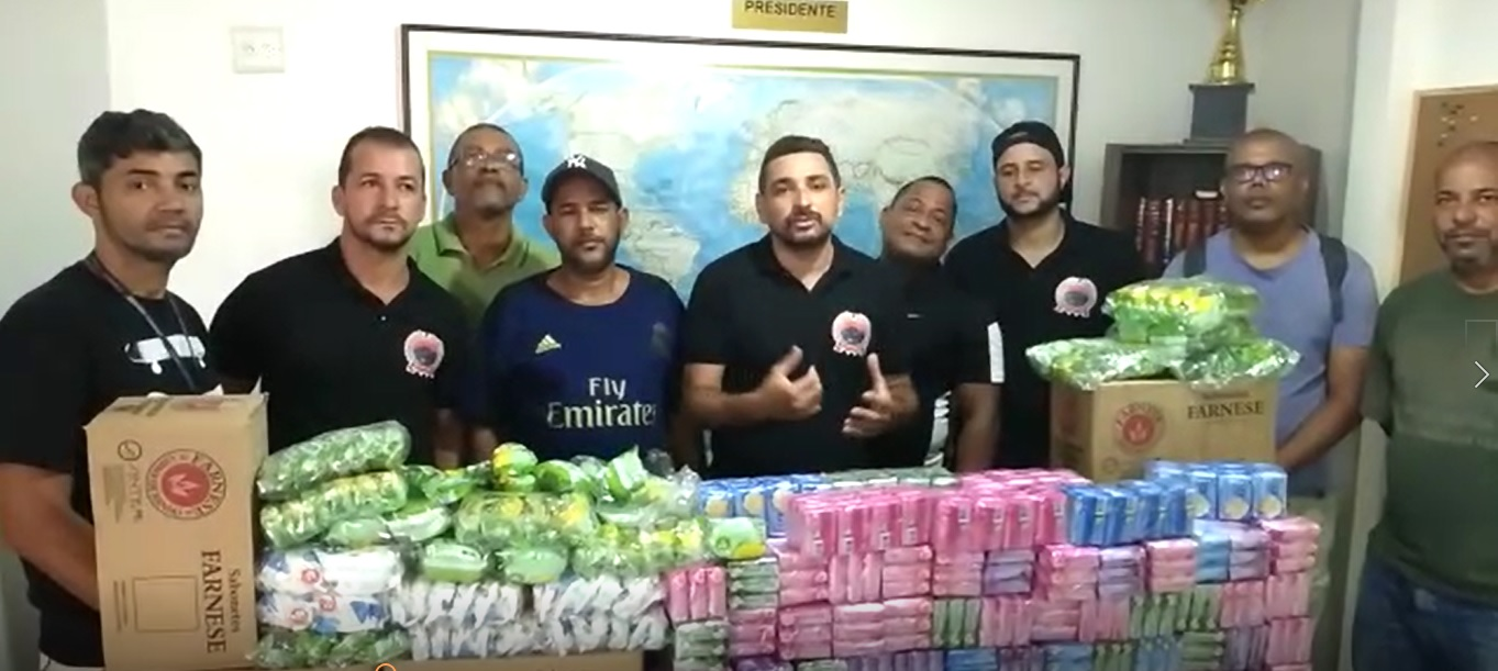 Comunidades do Rio recebem doações de produtos de higiene