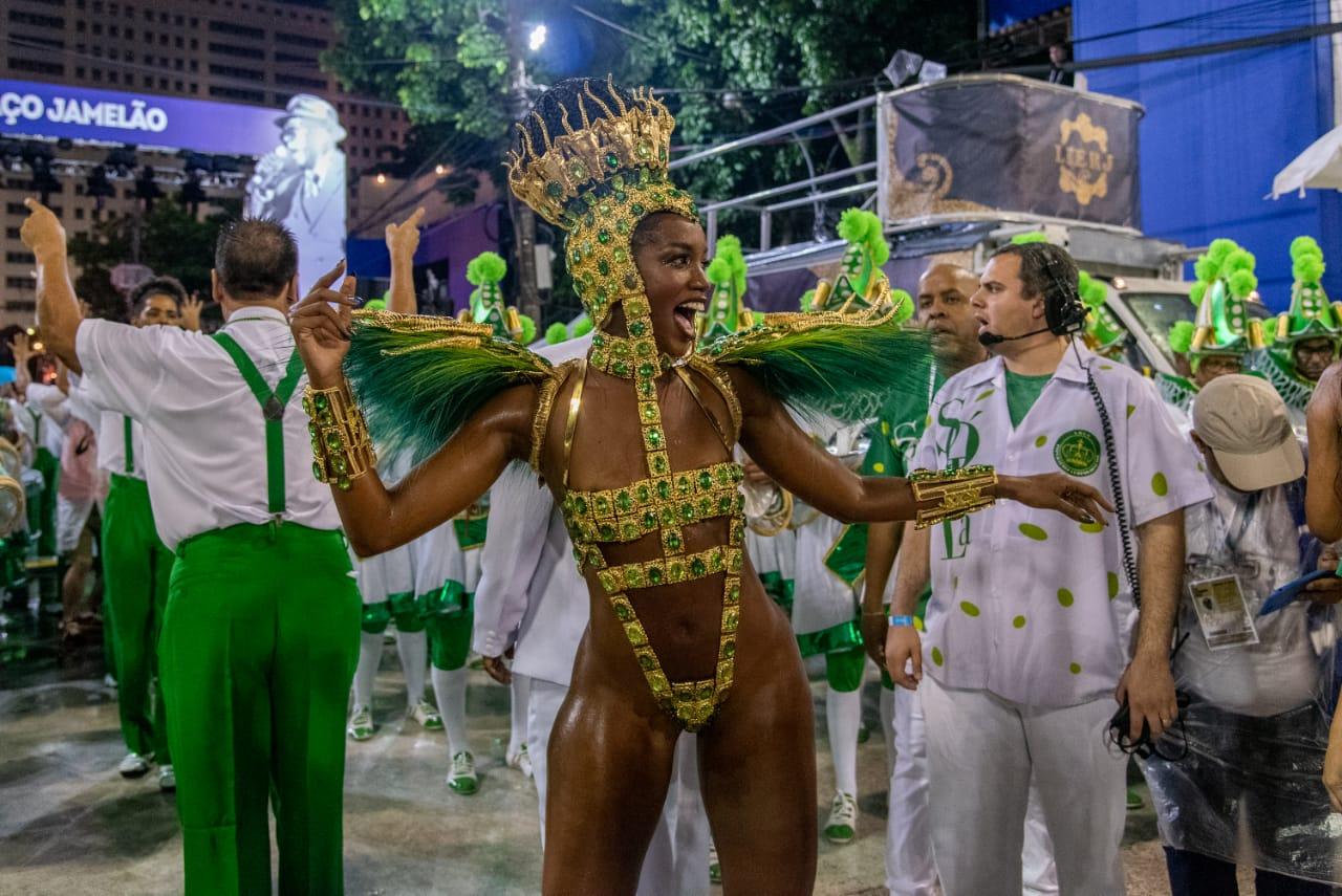 #VozNoCarnaval – Imperatriz Leopoldinense No iluminada avenida, só deu lalá