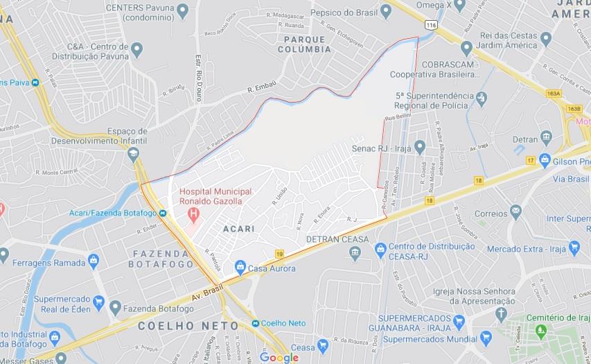 Prefeitura confirma primeira morte por Covid-19 na favela de Acari