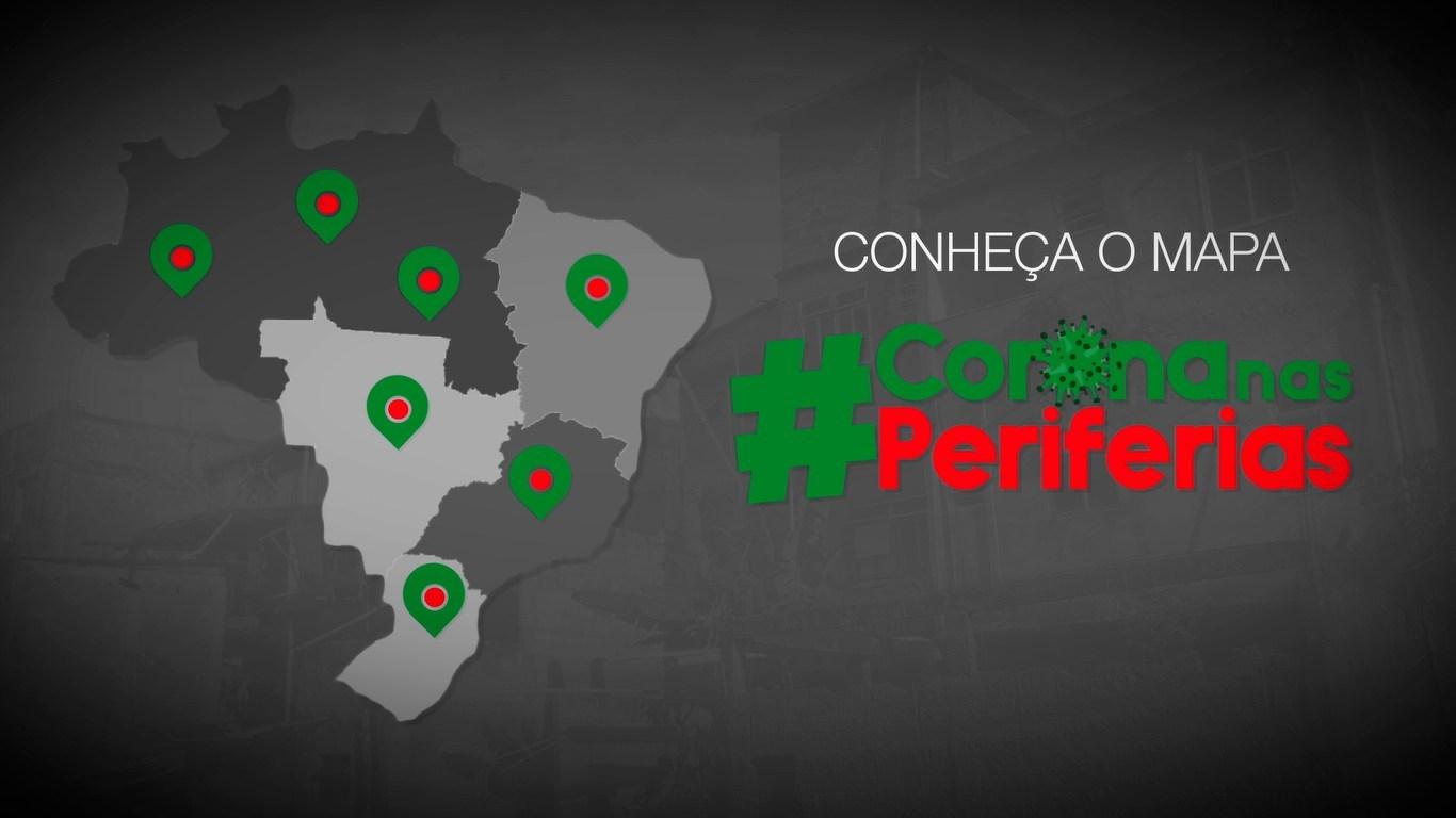 #MapaCoronaNasPeriferias: O mapa da solidariedade e mobilização