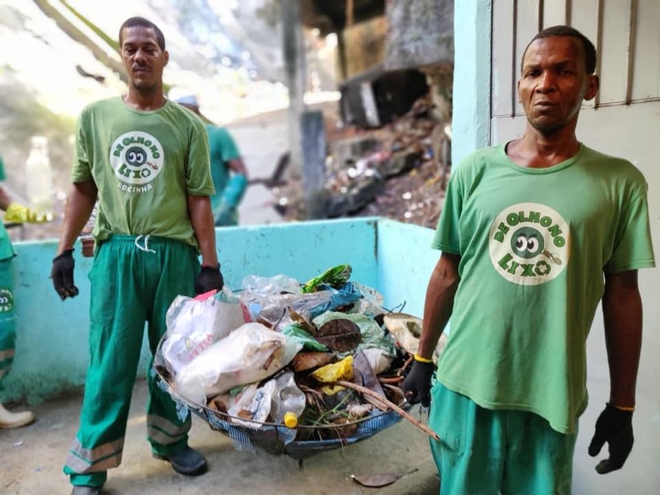 """Campanha """"De Olho no Coronavírus"""" recebe doações de resíduos na Rocinha"""