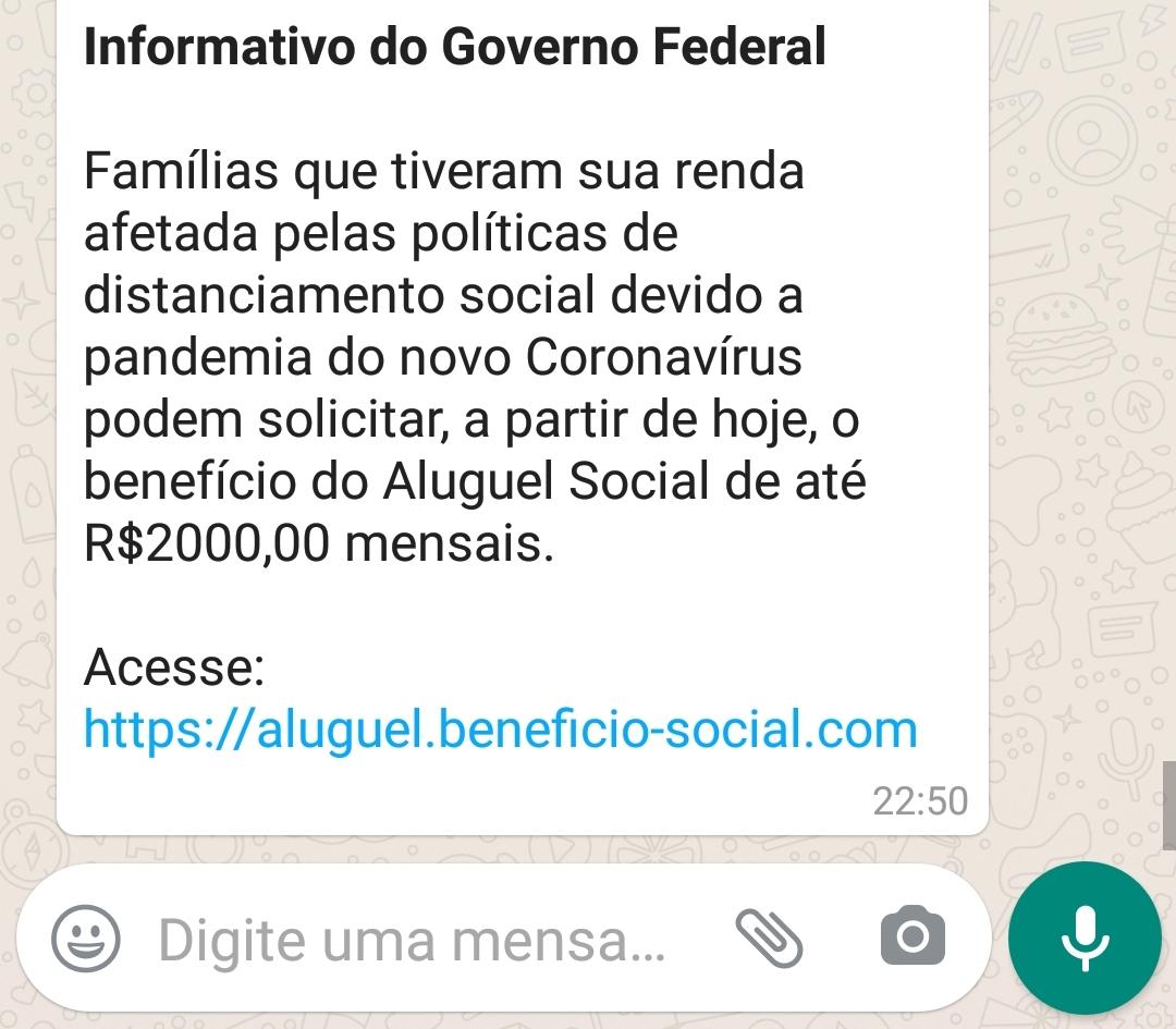 Governo NÃO liberou solicitação de aluguel social por causa da pandemia