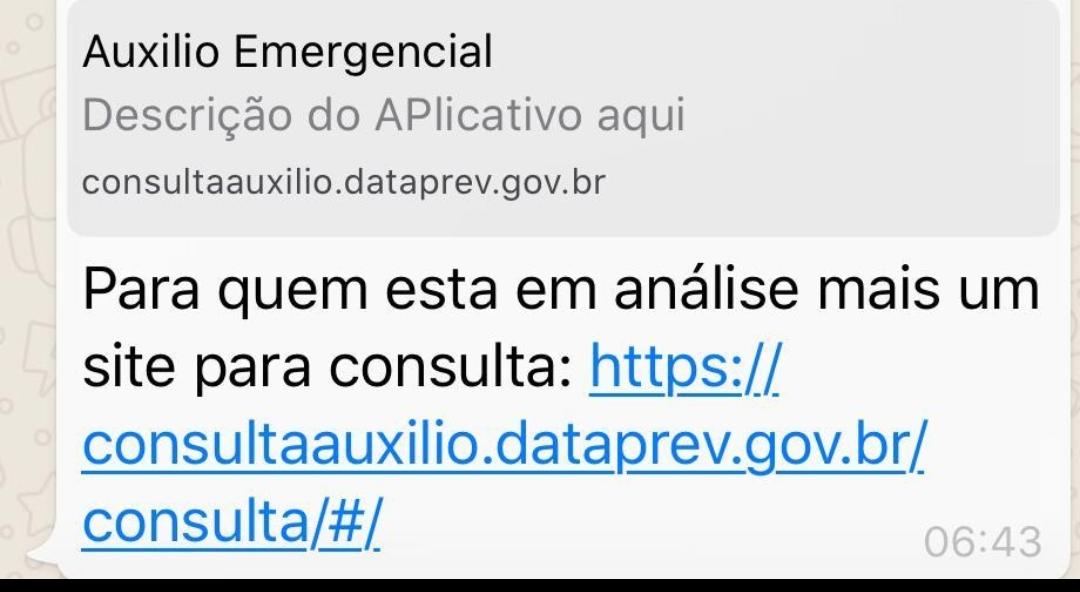 Dataprev lança site para consultar solicitação do auxílio emergencial