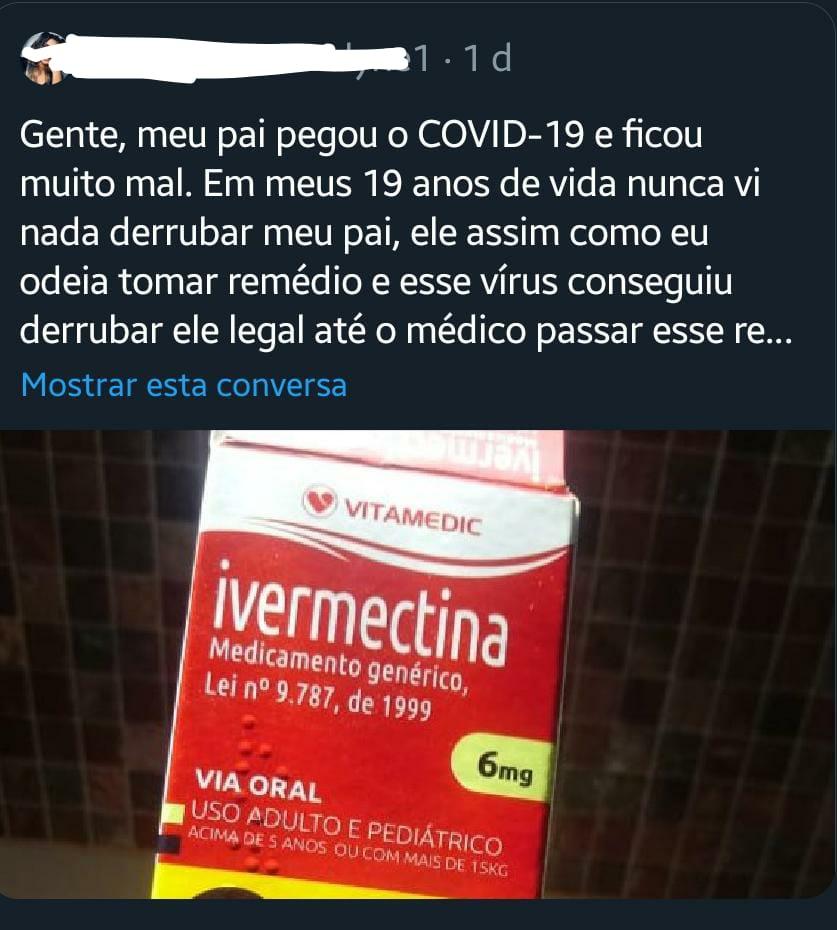 Ivermectina, remédio de piolho, NÃO é a cura do Covid-19