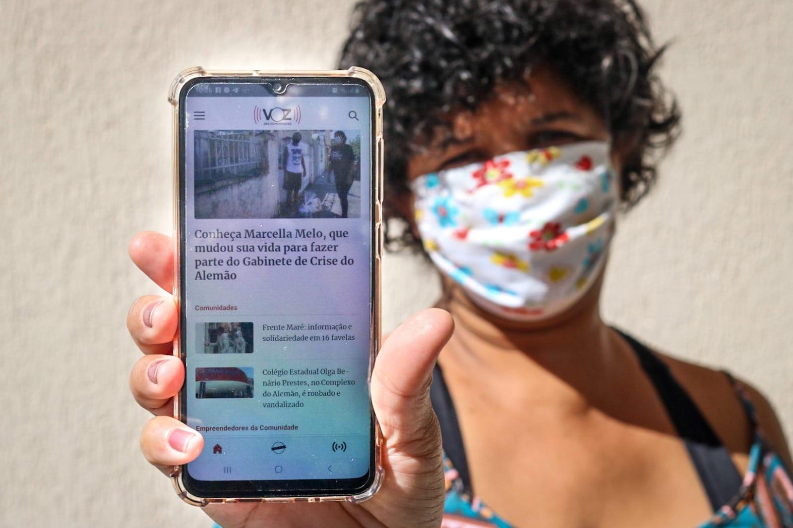 Voz das Comunidades lança aplicativo para combater a desinformação sobre a Covid-19