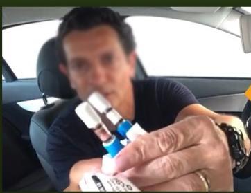 O uso de álcool em gel nas mãos NÃO altera resultado de bafômetro