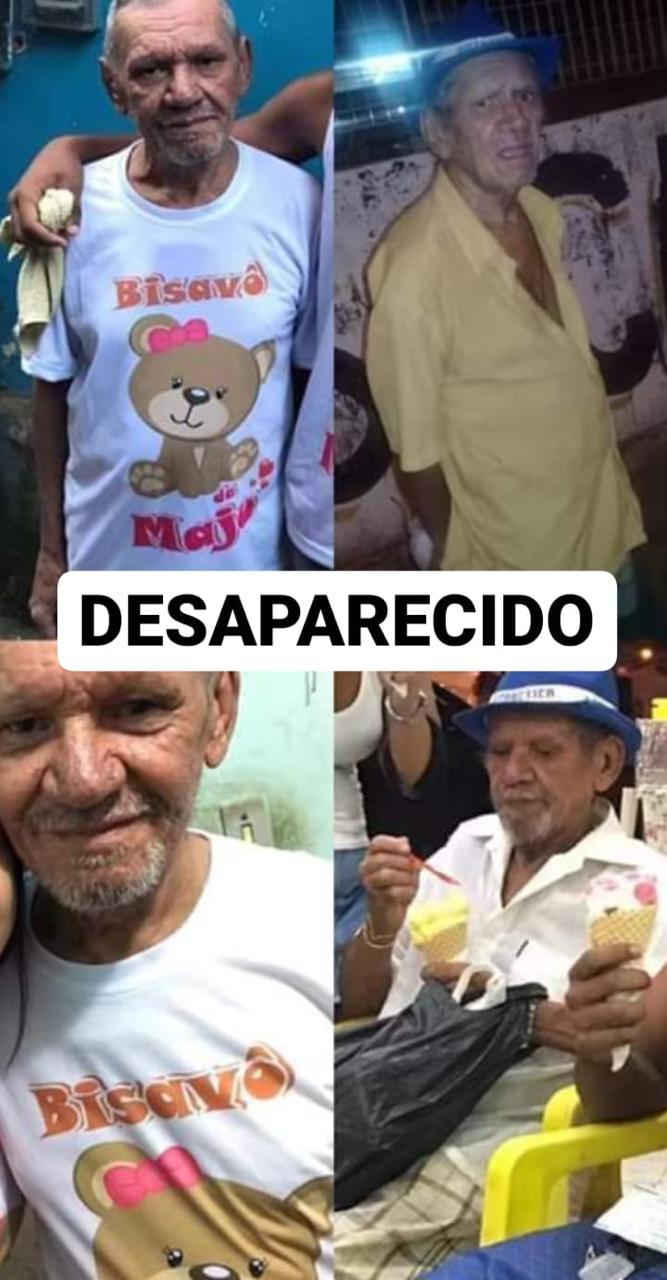 Morador de 78 anos do Complexo do Alemão está desaparecido há 3 dias