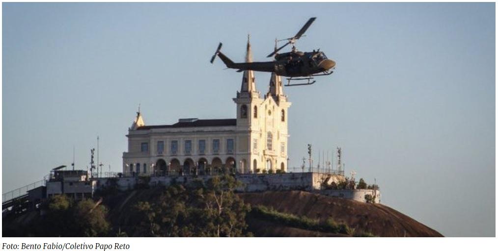 Após determinação da justiça, helicópteros policiais não podem mais sobrevoar escolas e creches
