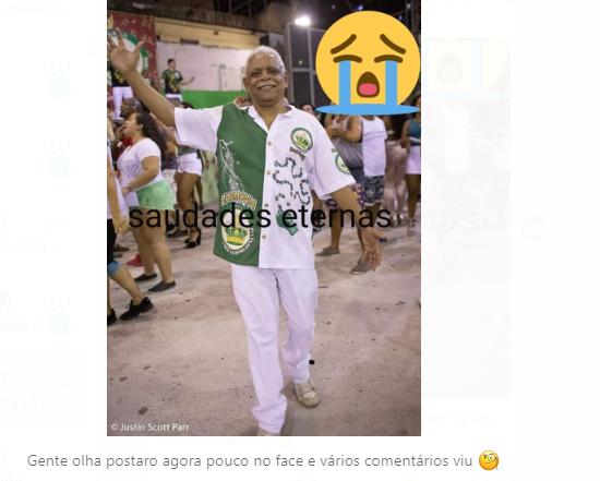 O ex-vereador Jorginho da SOS NÃO morreu!