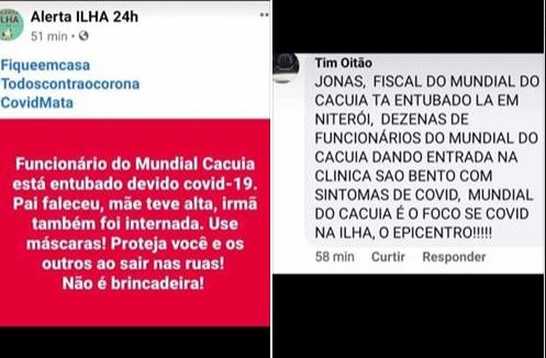 Unidade do supermercado Mundial NÃO foi fechada no Rio após funcionários morrerem de Covid-19
