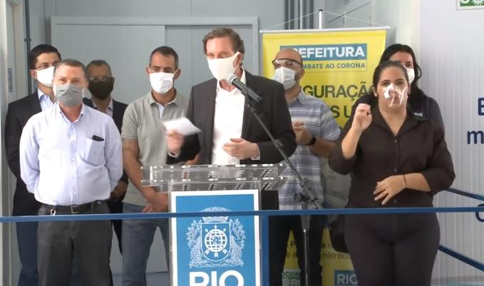 Tomógrafo é inaugurado na UPA da Cidade de Deus