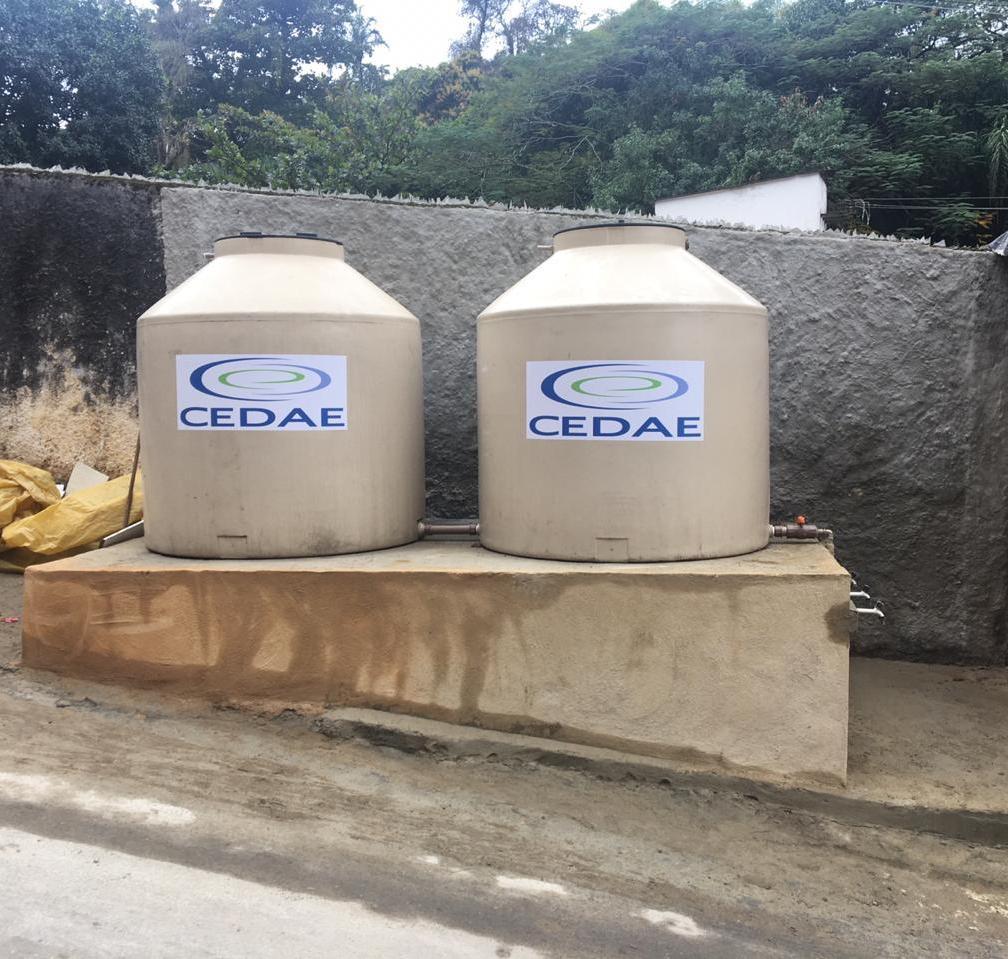 Covanca tem reforço da Cedae no abastecimento de água