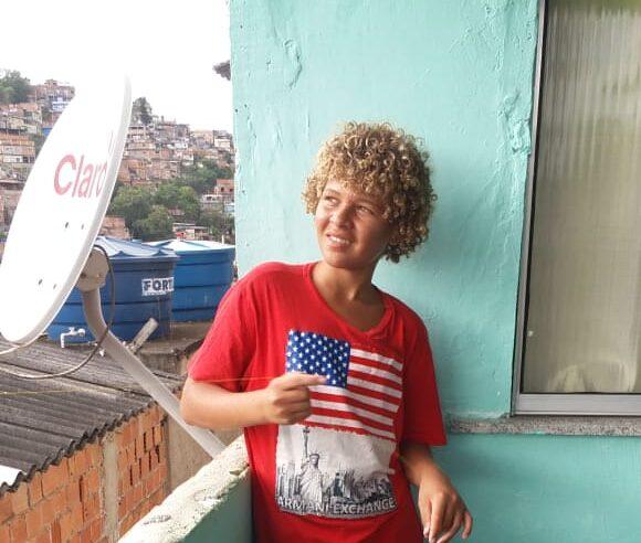 Pipa na favela: perigos em meio a diversão