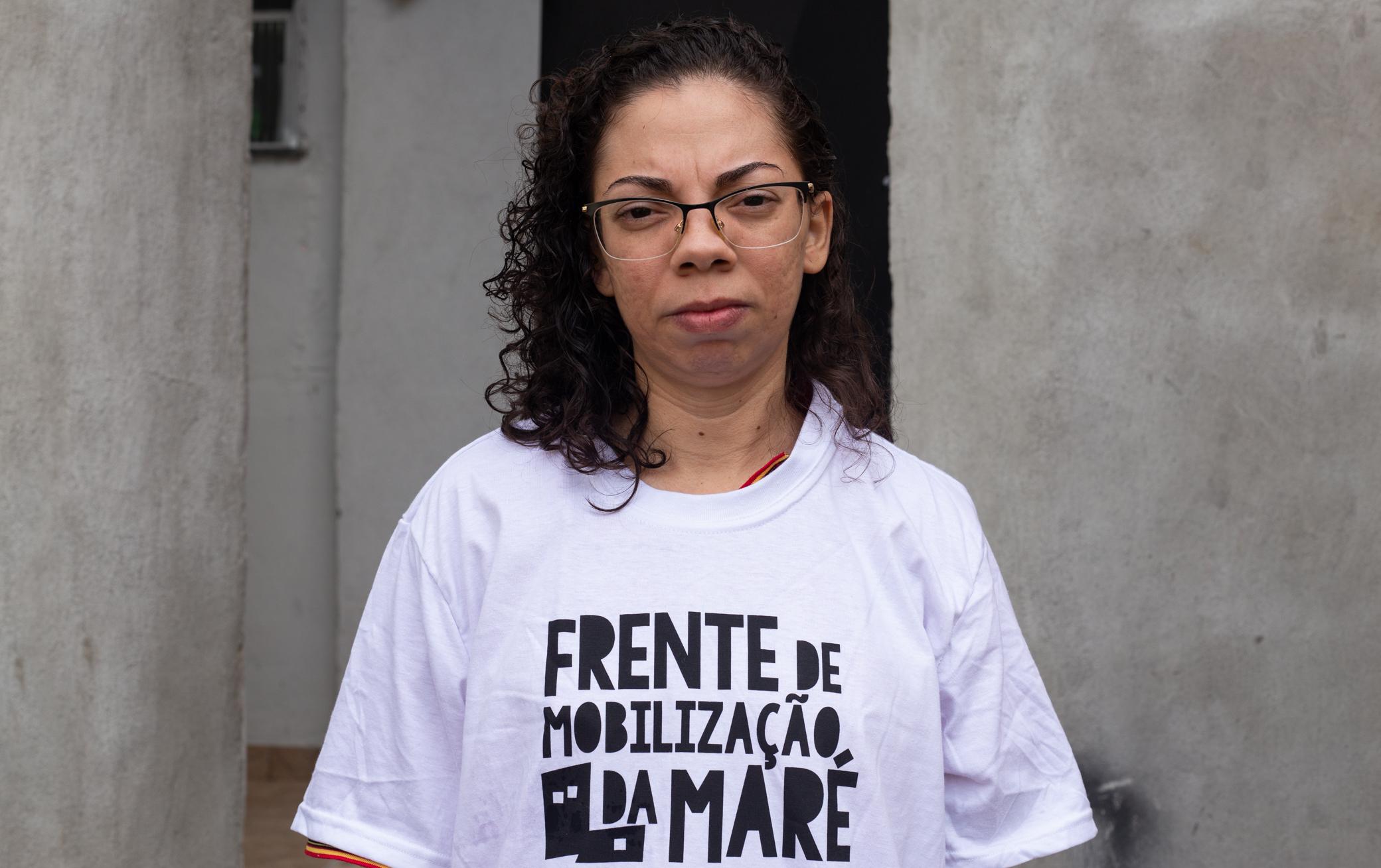 Gizele Martins: cria da Maré, moradora está na linha de frente contra a Covid-19 na comunidade