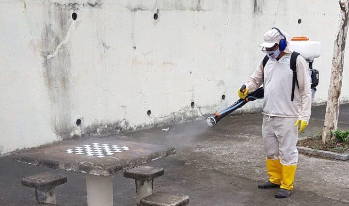 Cedae fará sanitização em 23 comunidades nesta semana