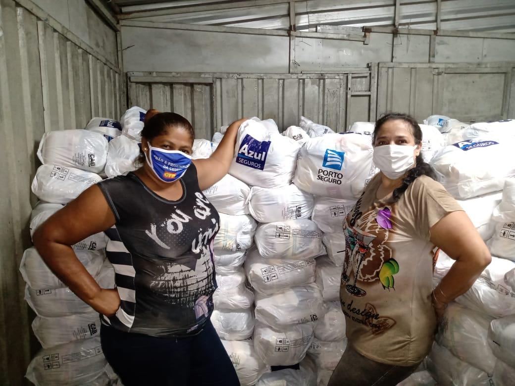 Projeto G10 das Favelas distribui 100 mil cestas básicas em favelas do Rio neste fim de semana